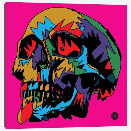 Death Canvas Print #TYU48} by Misha Tyutyunik Art Print