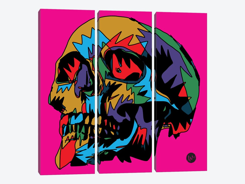 Death by Misha Tyutyunik 3-piece Canvas Art