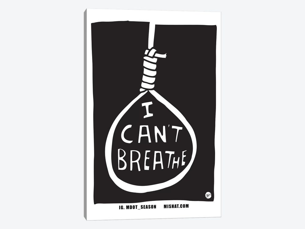 I Can't Breathe by Misha Tyutyunik 1-piece Canvas Wall Art