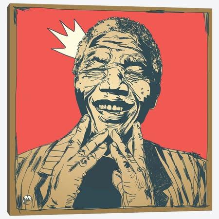 Mandela Canvas Print #TYU57} by Misha Tyutyunik Art Print