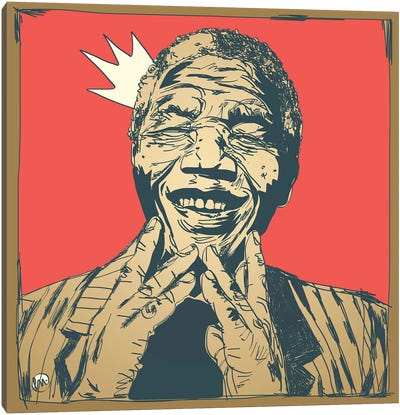 Mandela Canvas Art Print