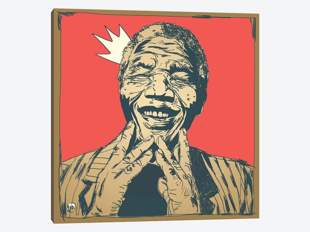 Mandela by Misha Tyutyunik 1-piece Canvas Wall Art