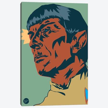 Mr Spock Canvas Print #TYU61} by Misha Tyutyunik Canvas Art Print