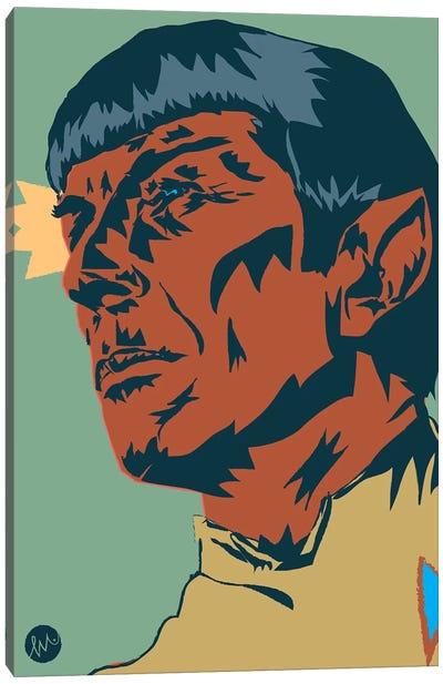 Mr Spock Canvas Art Print