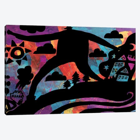 Nightwalker Canvas Print #TYU62} by Misha Tyutyunik Art Print