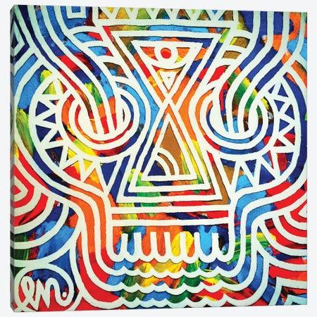 Skull Canvas Print #TYU67} by Misha Tyutyunik Canvas Art