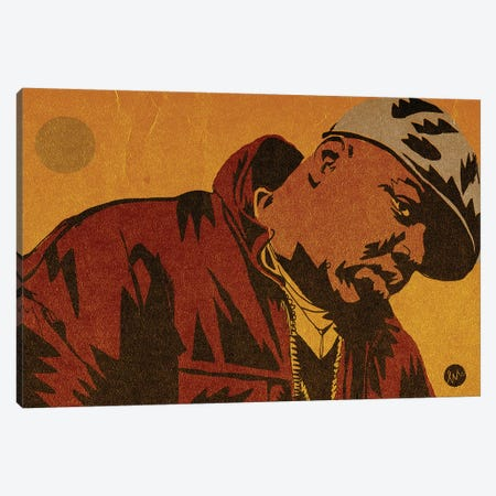 Biggie Canvas Print #TYU6} by Misha Tyutyunik Canvas Art Print