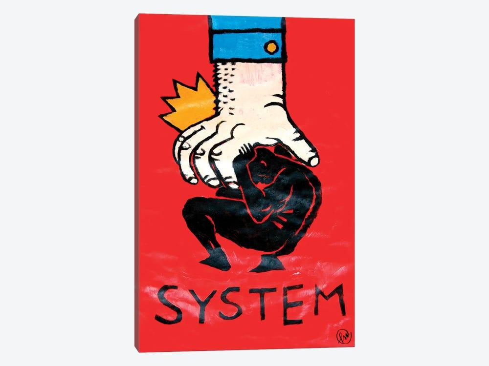 System by Misha Tyutyunik 1-piece Canvas Art