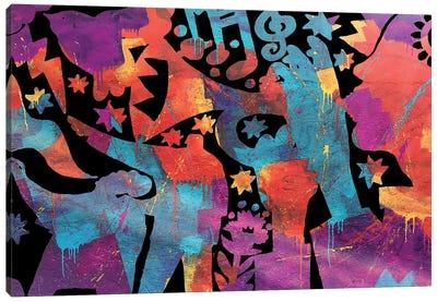 Trumpets Canvas Art Print