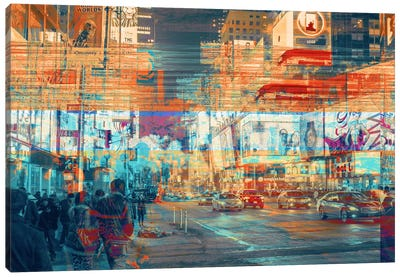 TimesSquared Canvas Art Print