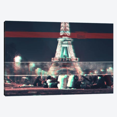 Parrris Canvas Print #UAS7} by 5by5collective Canvas Wall Art