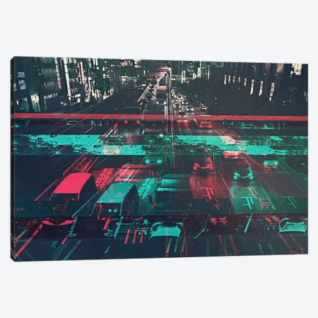Traffic Canvas Print #UAS9} by 5by5collective Canvas Print