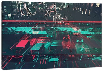 Traffic Canvas Art Print