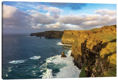 The Cliffs Of Moher In County Clare, Ireland Canvas Art Print