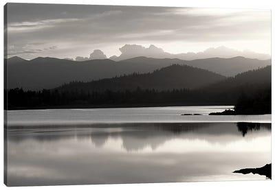 Salish Mountains Canvas Art Print
