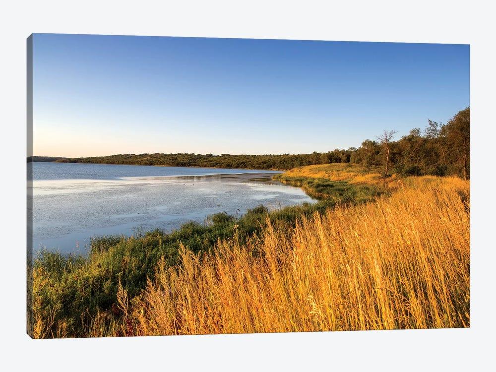 Wetland Landscape, Des Lacs National Wildlife Refuge, North Dakota, USA by Chuck Haney 1-piece Art Print