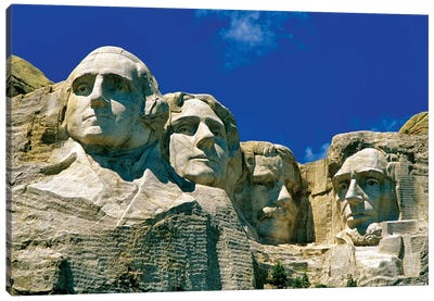 Mount Rushmore National Memorial, Pennington County, South Dakota, USA Canvas Art Print