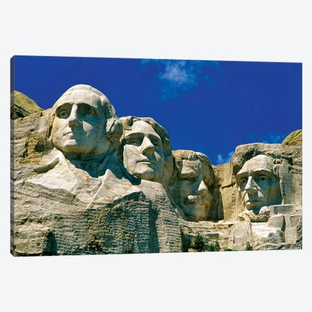 Mount Rushmore National Memorial, Pennington County, South Dakota, USA Canvas Print #UCK20} by Chuck Haney Canvas Wall Art