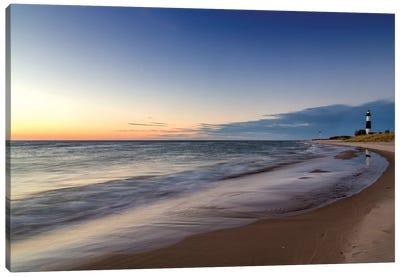A Distant Big Sable Point Light, Ludington State Park, Mason County, Michigan, USA Canvas Art Print