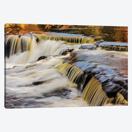 The Middle Branch of the Ontonagon River at Bond Falls Scenic Site, Michigan USA Canvas Print #UCK54} by Chuck Haney Canvas Artwork