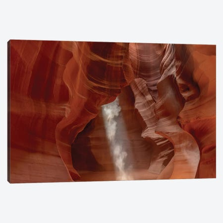 Sunbeam in Upper Antelope Canyon near Page, Arizona, USA Canvas Print #UCK79} by Chuck Haney Canvas Print