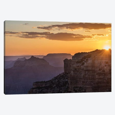 Sunset over Cape Royal in Grand Canyon National Park, Arizona, USA Canvas Print #UCK87} by Chuck Haney Art Print