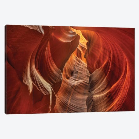 Upper Antelope Canyon near Page, Arizona, USA Canvas Print #UCK90} by Chuck Haney Canvas Art Print