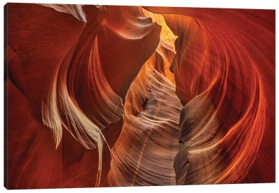 Upper Antelope Canyon near Page, Arizona, USA Canvas Art Print