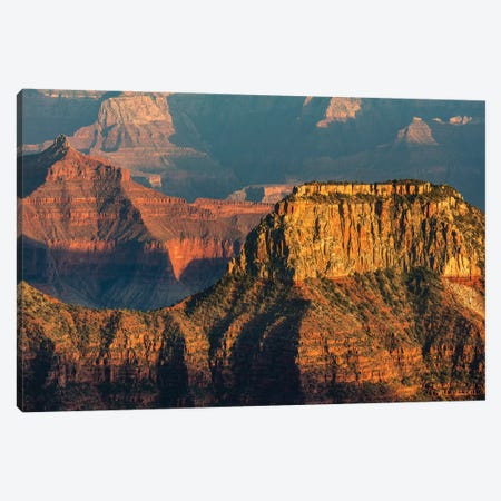 View from Bright Angel Point on the North Rim of Grand Canyon National Park, Arizona, USA Canvas Print #UCK92} by Chuck Haney Canvas Art Print