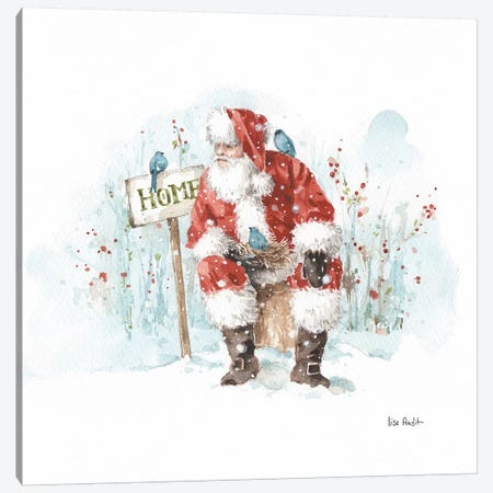 Magical Holidays IV Canvas Print #UDI101} by Lisa Audit Canvas Artwork