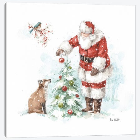 Magical Holidays V Canvas Print #UDI102} by Lisa Audit Canvas Wall Art