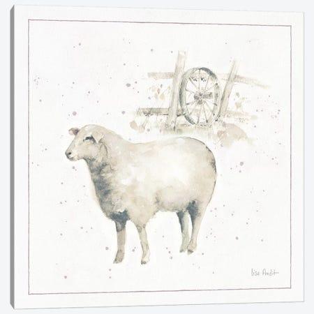 Farm Friends X Canvas Print #UDI10} by Lisa Audit Canvas Wall Art