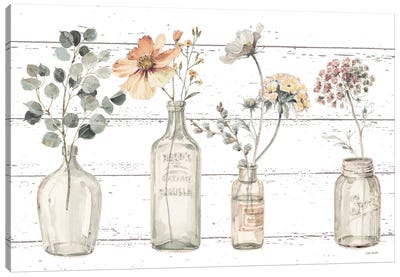A Country Weekend VIII v2 Fall Flower Canvas Art Print