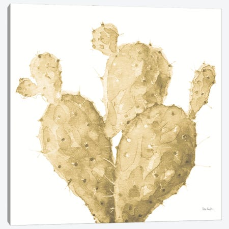 Mixed Greens XXXVI Gold Canvas Print #UDI150} by Lisa Audit Art Print