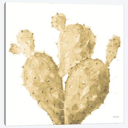 Mixed Greens XXXVI Gold Canvas Print #UDI150} by Lisa Audit Art Print