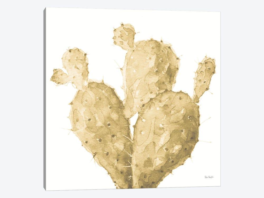 Mixed Greens XXXVI Gold by Lisa Audit 1-piece Canvas Art Print