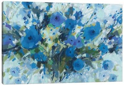 Blueming I Landscape Canvas Art Print