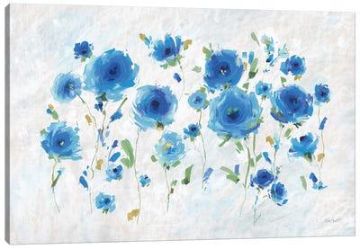 Blueming II Canvas Art Print