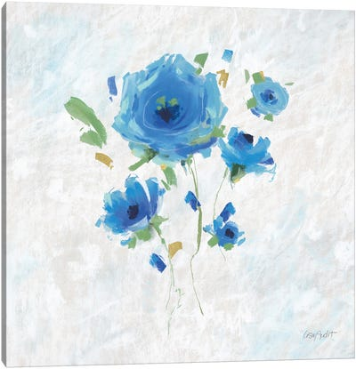 Blueming III Canvas Art Print