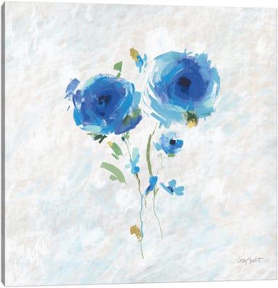 Blueming IV Canvas Art Print