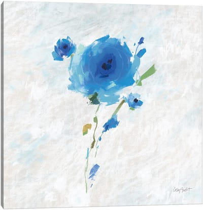 Blueming V Canvas Art Print