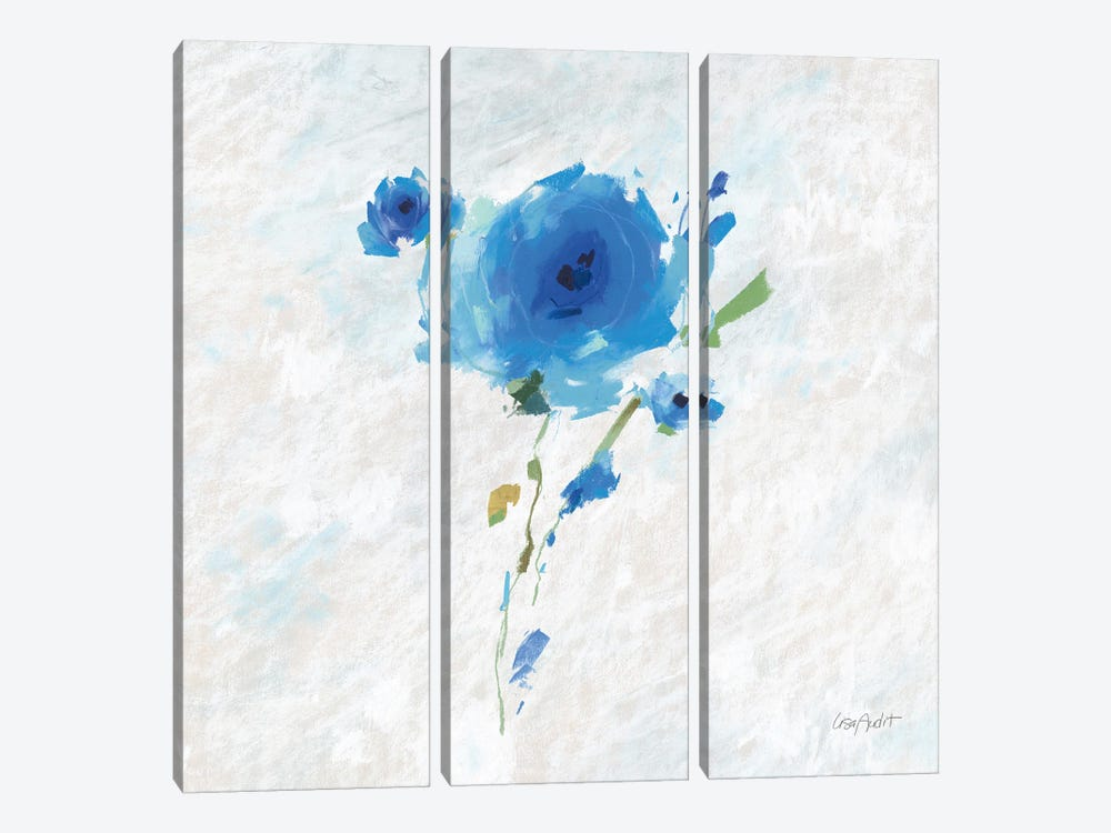 Blueming V by Lisa Audit 3-piece Canvas Print