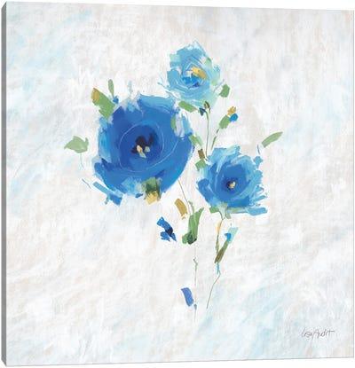 Blueming VI Canvas Art Print