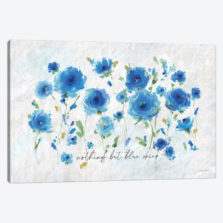 Blueming VII Canvas Print #UDI158} by Lisa Audit Art Print