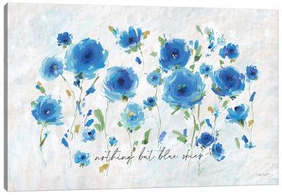 Blueming VII Canvas Art Print