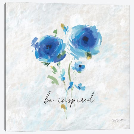 Blueming IX Canvas Print #UDI160} by Lisa Audit Canvas Art