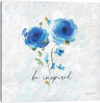 Blueming IX Canvas Art Print