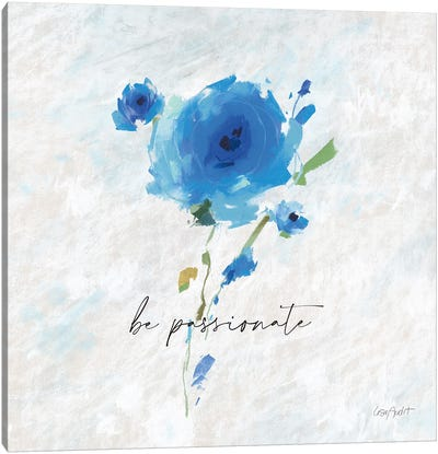 Blueming X Canvas Art Print