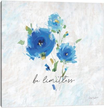 Blueming XI Canvas Art Print