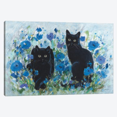 Blueming XII Canvas Print #UDI163} by Lisa Audit Canvas Artwork
